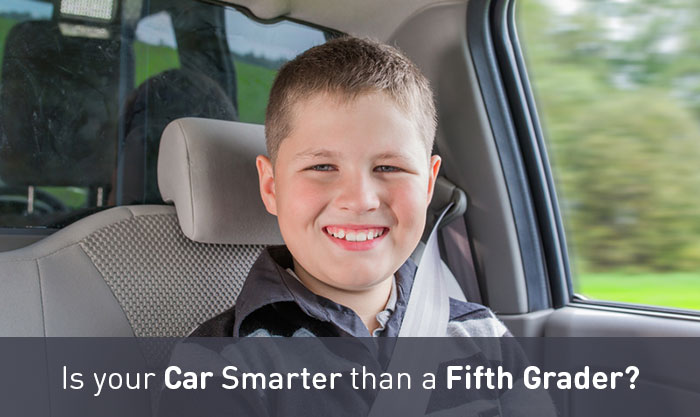 Is your Car Smarter than a Fifth Grader?