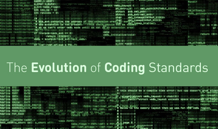 The Evolution of Coding Standards