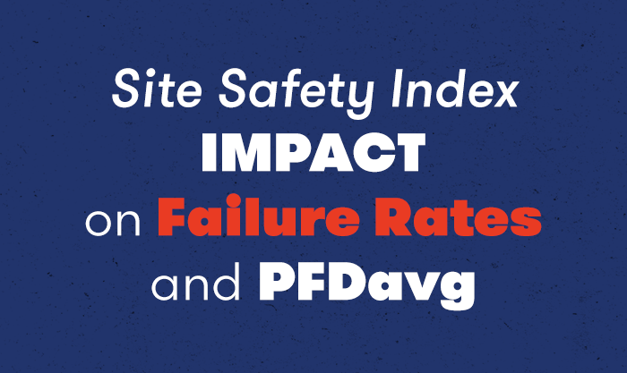 Site Safety Index IMPACT on Failure Rates and PFDavg