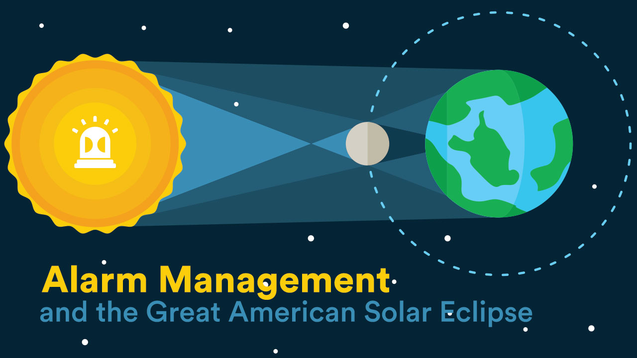 Alarm Management and the Great American Solar Eclipse