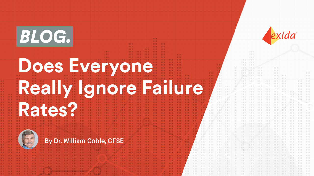 Does Everyone Really Ignore Failure Rates?