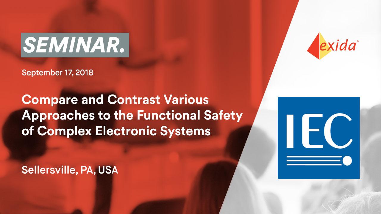 IEC62061 seminar