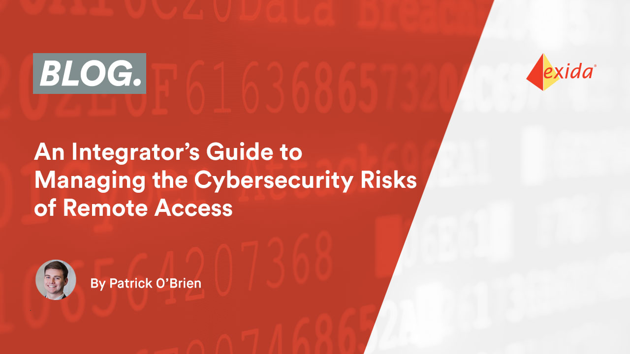 An Integrator's Guide to Managing the Cybersecurity Risks of Remote Access