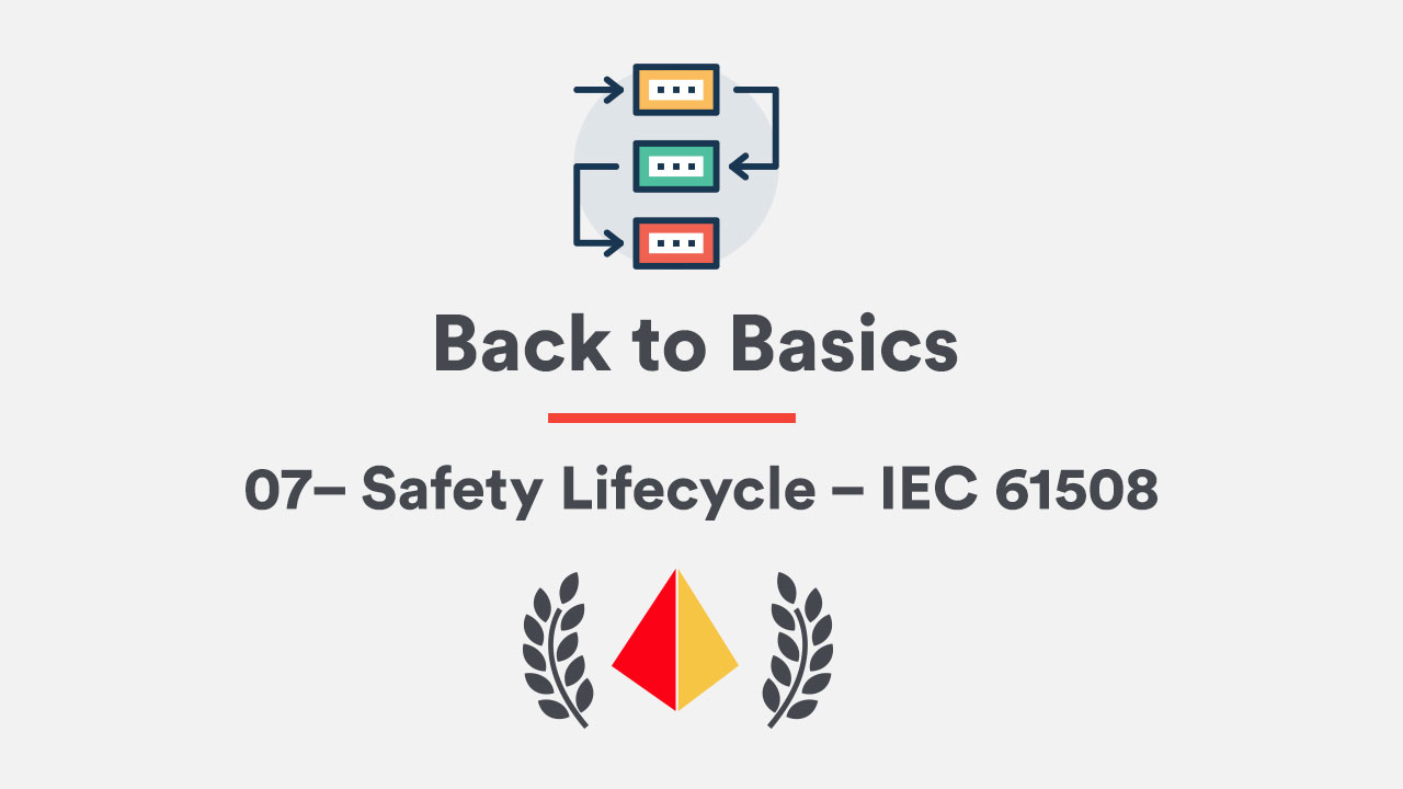 Back to Basics 07– Safety Lifecycle – IEC 61508