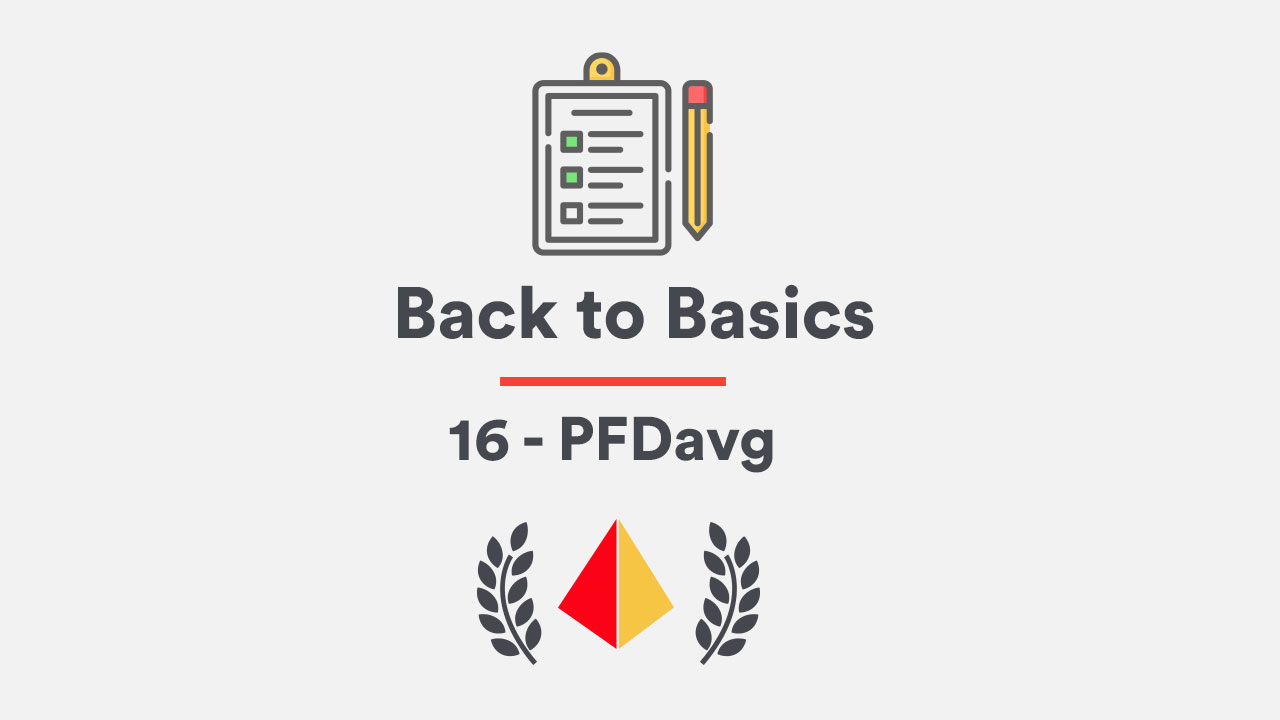 Back to Basics 16 - PFDavg