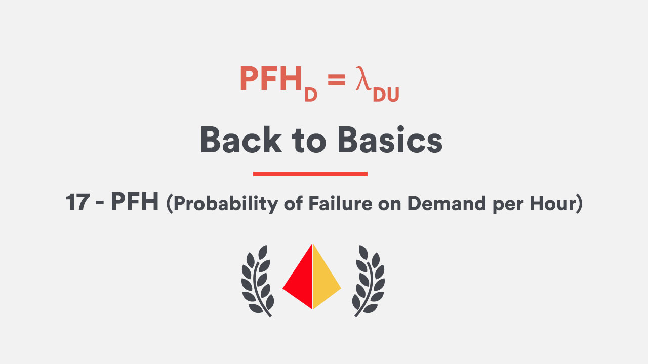 Back to Basics 17 - PFH (Probability of Failure on Demand per Hour)