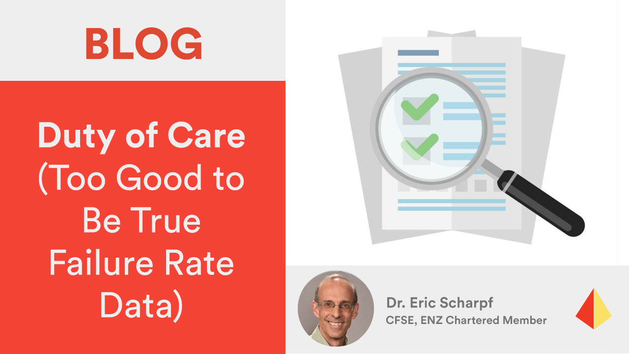 Duty of Care (Too Good to Be True Failure Rate Data)