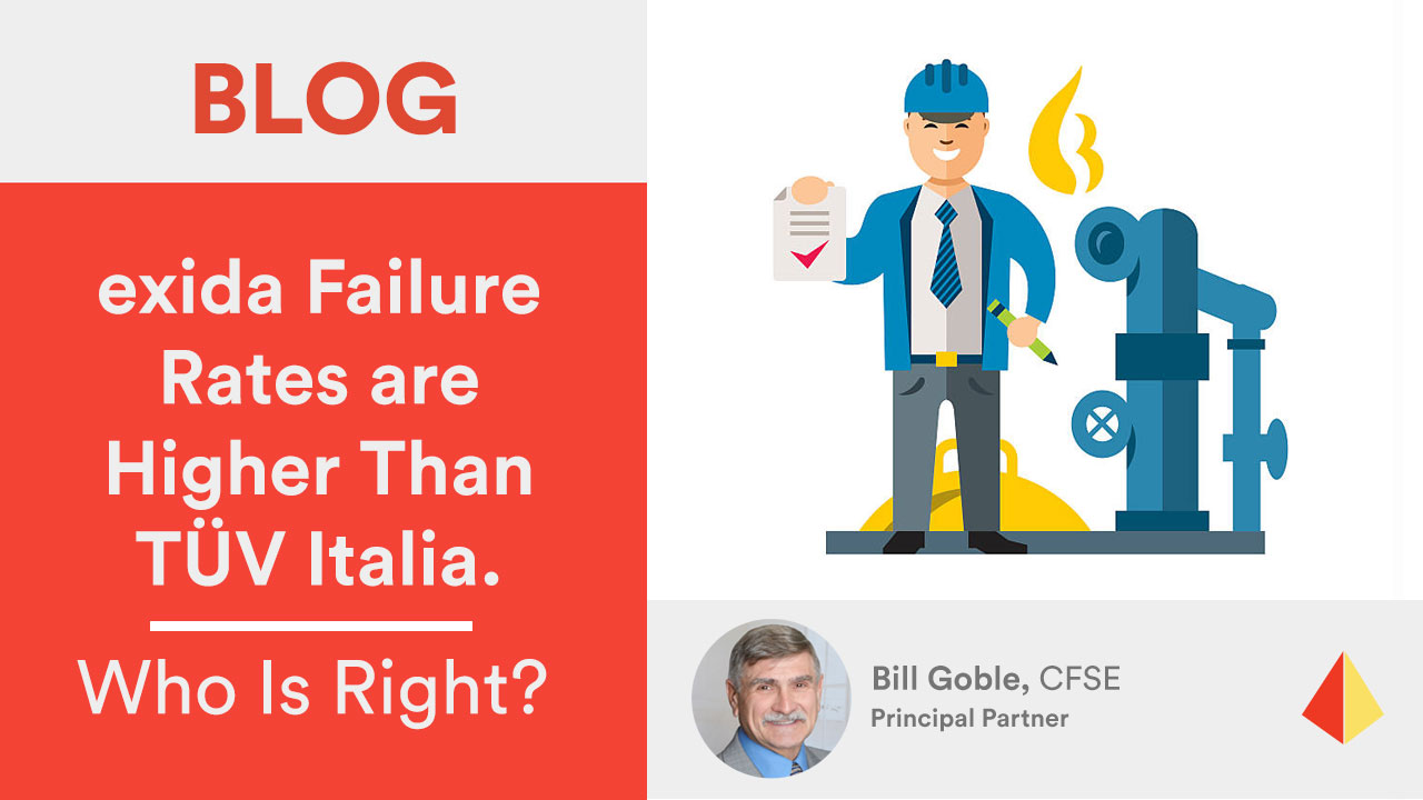 exida Failure Rates are Higher Than TÜV Italia. Who Is Right?