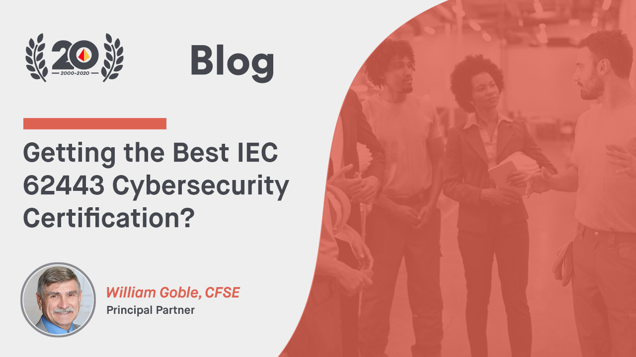 Getting the Best IEC 62443 Cybersecurity Certification?