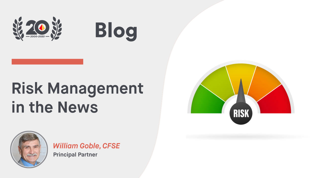 Risk Management in the News