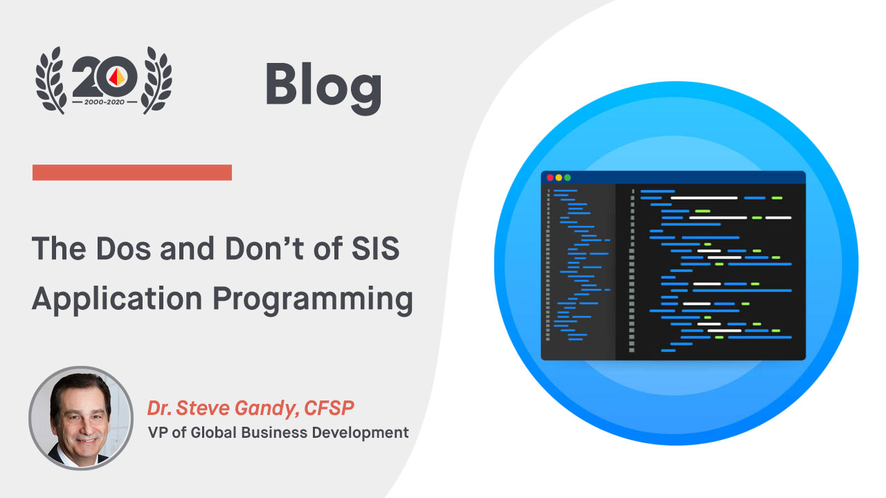 The Dos and Don't of SIS Application Programming