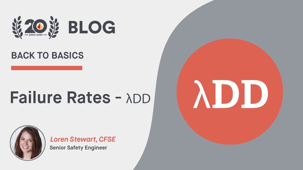 Back to Basics: Failure Rates - λDD