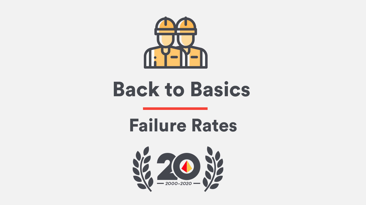 Back to Basics: Failure Rates