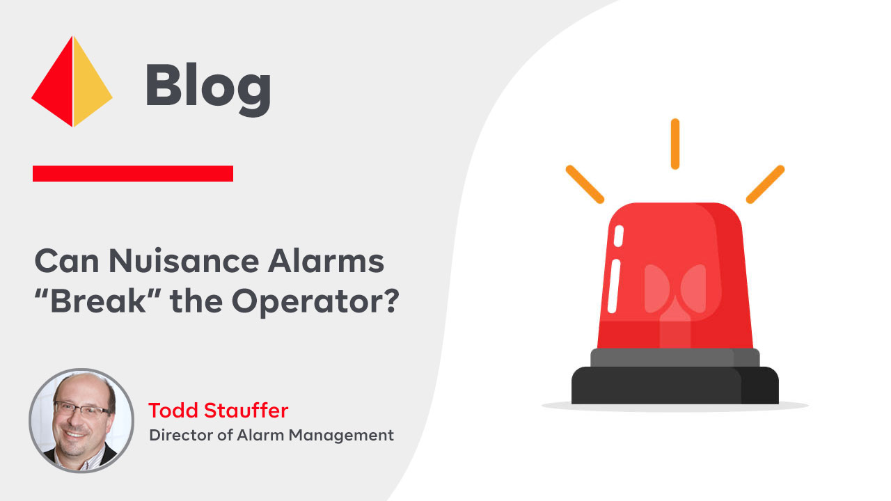 """Can Nuisance Alarms """"Break"""" the Operator?"""