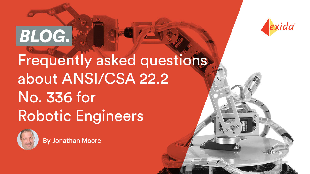 Frequently asked questions about ANSI/CSA 22.2  No. 336 for Robotic Engineers