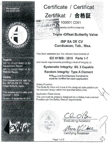 False Certificate